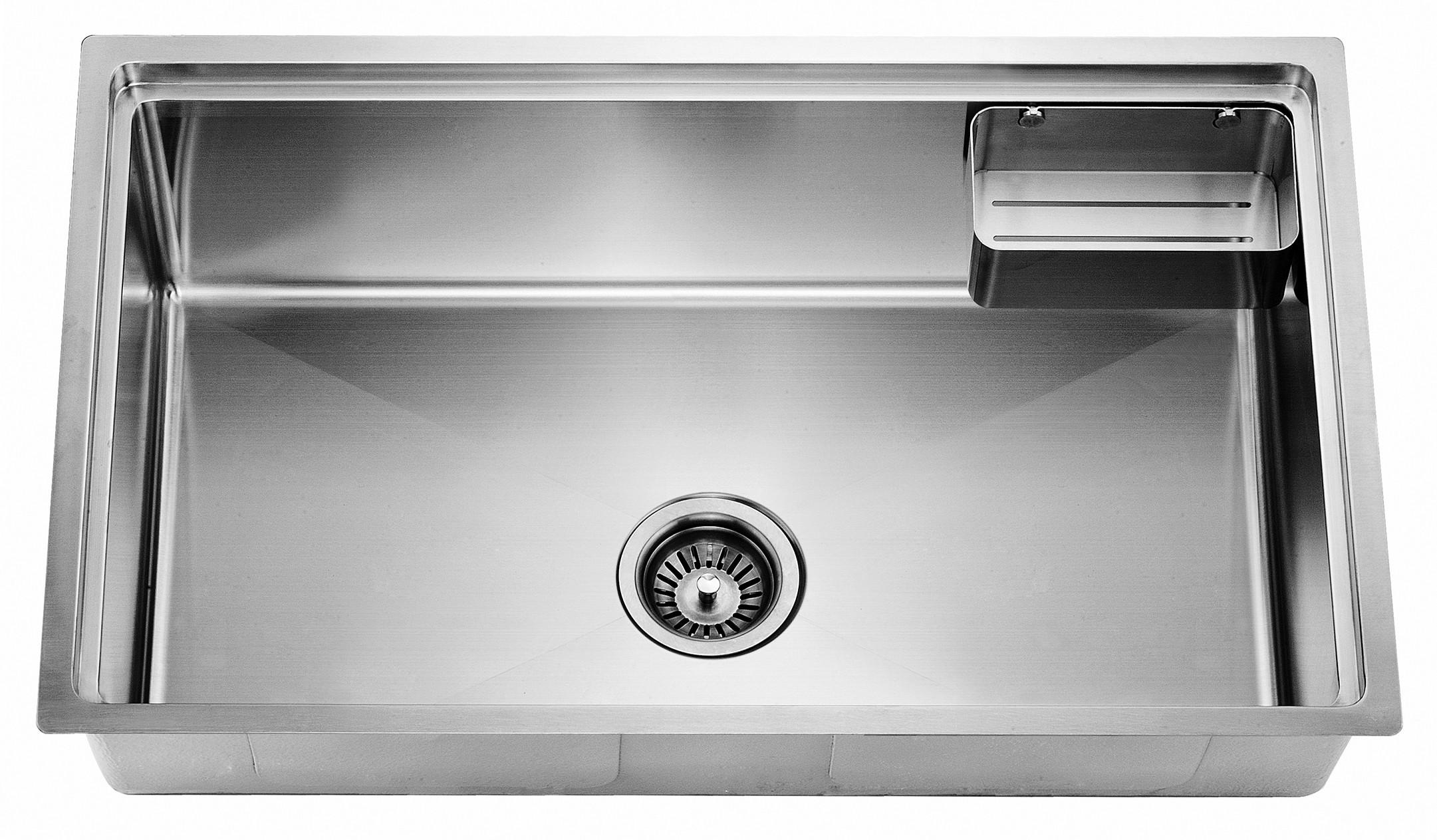 Dawn SRU281610 Undermount Small Corner Radius Single Bowl Kitchen Sink