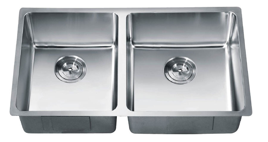 Dawn SRU301616L Undermount Stainless Small Radius Sink