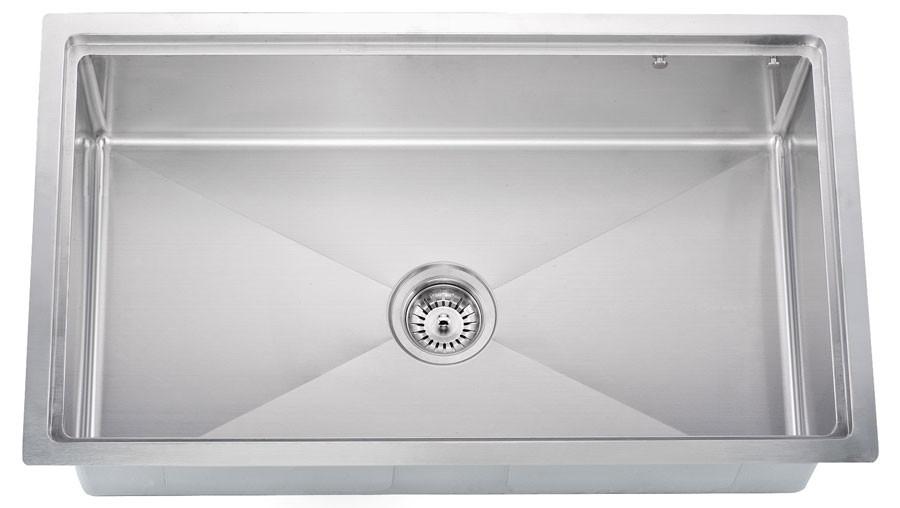 Dawn SRU311710 Undermount Stainless Small Radius Sink