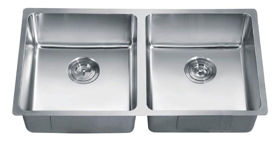 Dawn SRU331616 Undermount Stainless Steel  Small Radius Sink