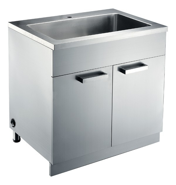 Dawn SSC3636 Free Standing  Stainless Steel Sink Base Cabinet
