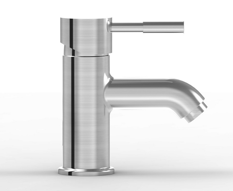 Parmir SSV-101A Solid Stainless Steel Bath Faucet with Single Lever Handle
