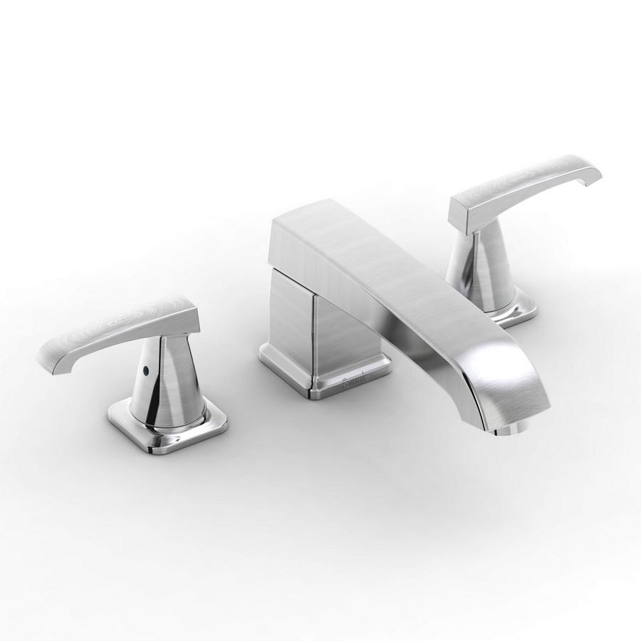 Parmir SSV-2210 Widespread Bathroom Faucet with Double Lever Handle