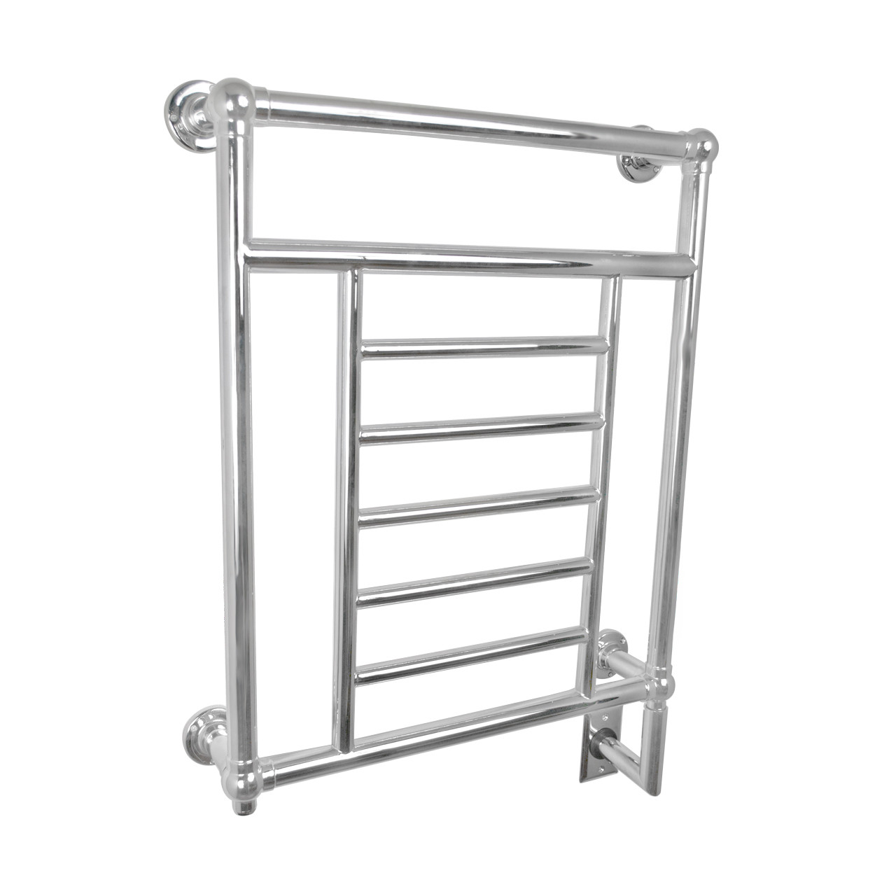 Amba T-2536 P Traditional Wall Mount Electric Towel Warmer In Polished Nickel