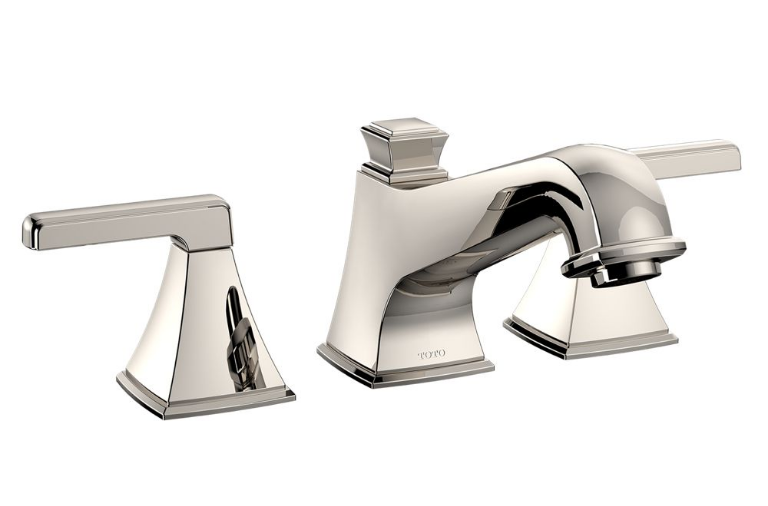 TOTO TB221DD#PN Connelly Deck Mounted Roman Tub Filler Trim In Polished Nickel