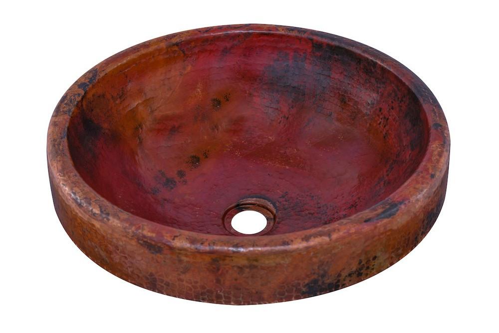 Novatto TCU-014NAORB GRANADA Bathroom Sink With Oil Rubbed Bronze Drain