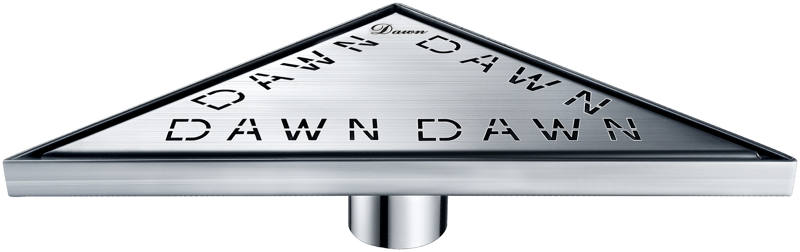 Dawn® TDA131004 Dawn Series Triangle Shower Drain In Polished Satin