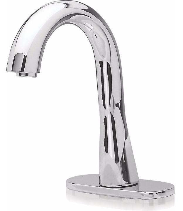 TOTO TEL151-D10ET#CP Gooseneck Ecopower Faucet In Polished Chrome With Thermostatic Valve