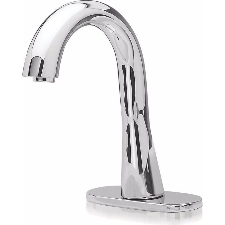 TOTO TEL155-C20EM#CP Gooseneck Brass Eco Faucet With Mixing Valve In Polished Chrome