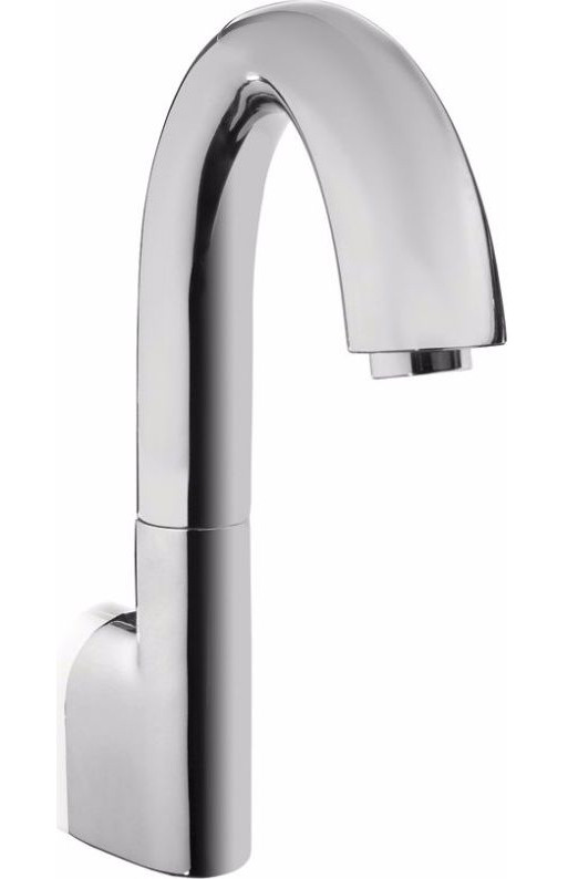 TOTO TEL161-D10ET#CP Polished Chrome Gooseneck Wall Mounted Brass Eco Faucet With Thermostatic Valve