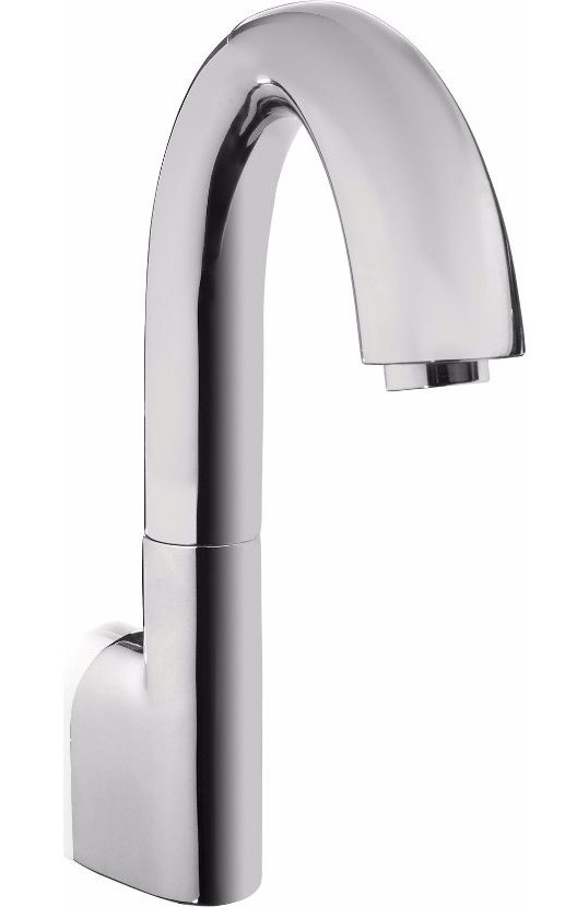 TOTO TEL165-C20EM#CP Gooseneck Ecopower Faucet Kit With Mixing Valve In Polished Chrome