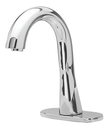 TOTO TEL3GG10R#CP Polished Chrome Gooseneck Single Supply Faucet With EcoPower Technology