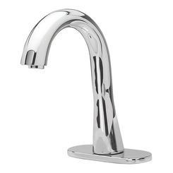 TOTO TEL3GG60R#CP Gooseneck Ecopower System Bathroom Faucet In Polished Chrome