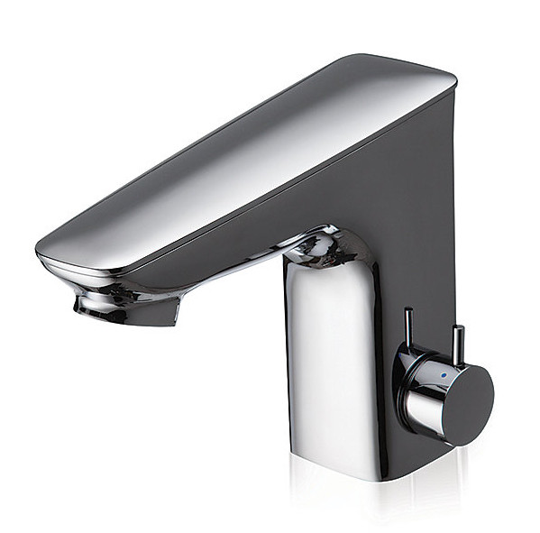 TOTO TEL5LI15R#CP Integrated Single Hole EcoPower Bathroom Faucet In Polished Chrome
