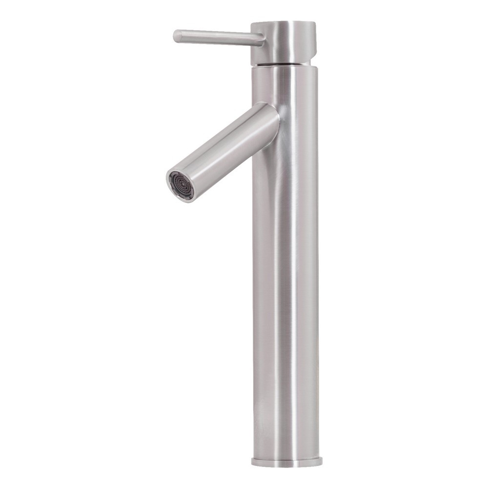 Novatto TF-4436BN Brushed Nickel Finish Topia Waterfall Vessel Faucet