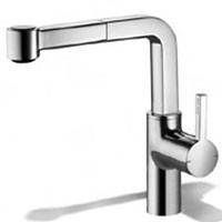 KWC 10.191.003  Single Hole Lever Handle Kitchen Faucet