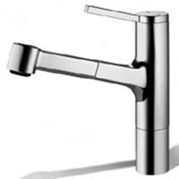 KWC 10.191.033 Single Hole Pull Out Kitchen Faucet