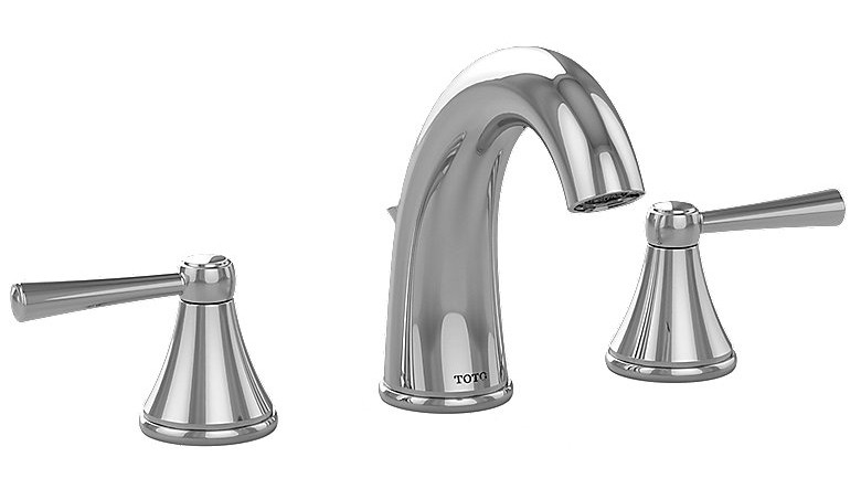 TOTO TL210DD Silas Widespread Lavatory Faucet With Two Lever Handles