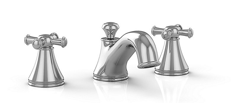 TOTO TL220DD Vivian Widespread Lavatory Faucet With Cross Handles