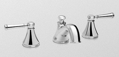 TOTO TL220DD1 Vivian Widespread Lavatory Faucet With Two Lever Handles