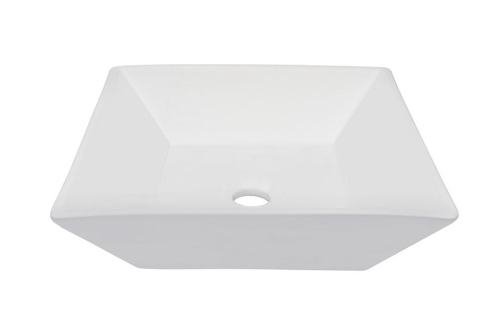 Novatto TP-V10W BIANCO PARI Ceramic Vessel Bathroom Sink