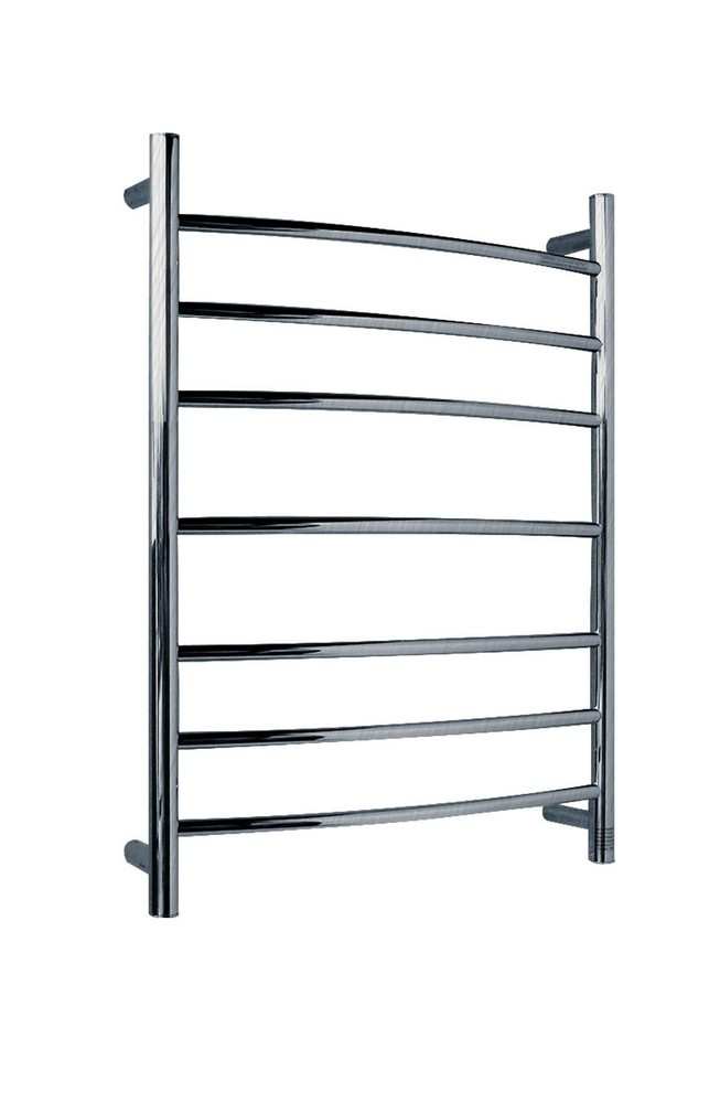 ANZZI TW-AZ027BN Gown Series 7 Bar Electric Towel Warmer In Brushed Nickel