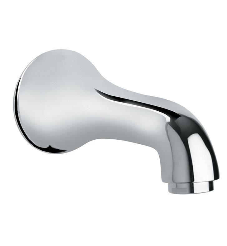 Polished Chrome LaToscana USCR430 5'' Solid Brass Bath Tub Spout