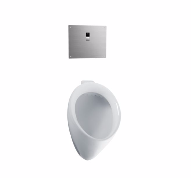 TOTO UT104EV Commercial 3/4 Inch Rear Spud Wall Mounted Bath Urinal