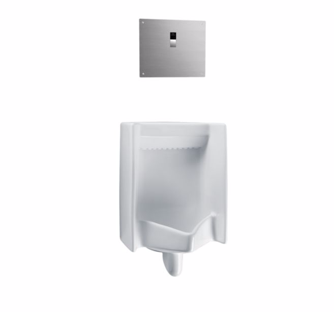 TOTO UT445UV#01 Commercial Washout Wall Mounted Bathroom Urinal In Cotton