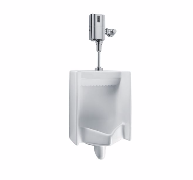 TOTO UT447E Commercial Top Spud Inlet High Efficiency Bathroom Urinal
