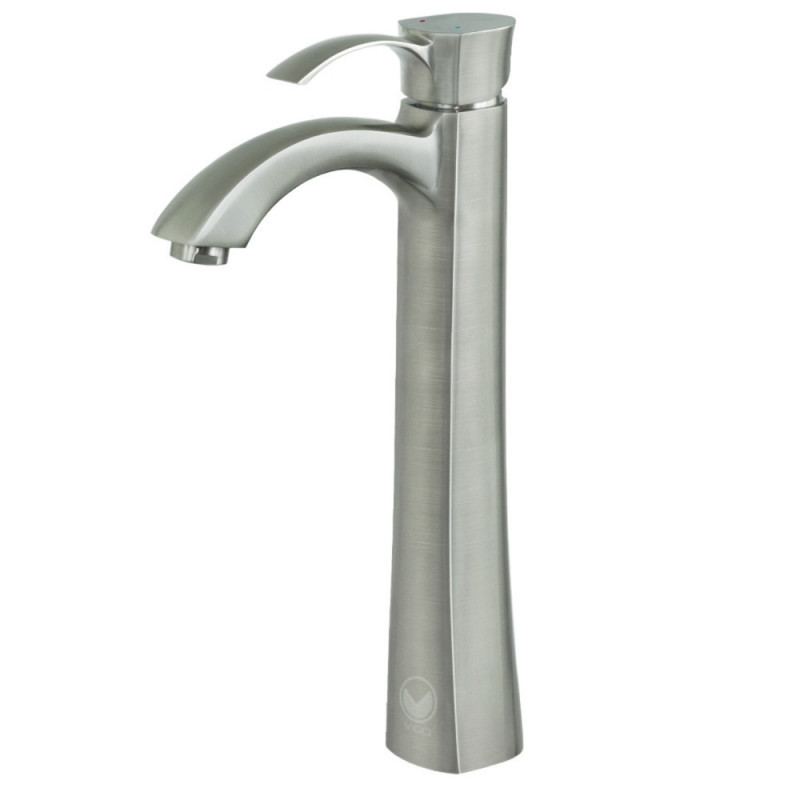 VIGO VG03023BN Otis Bathroom Vessel Faucet in PVD Brushed Nickel