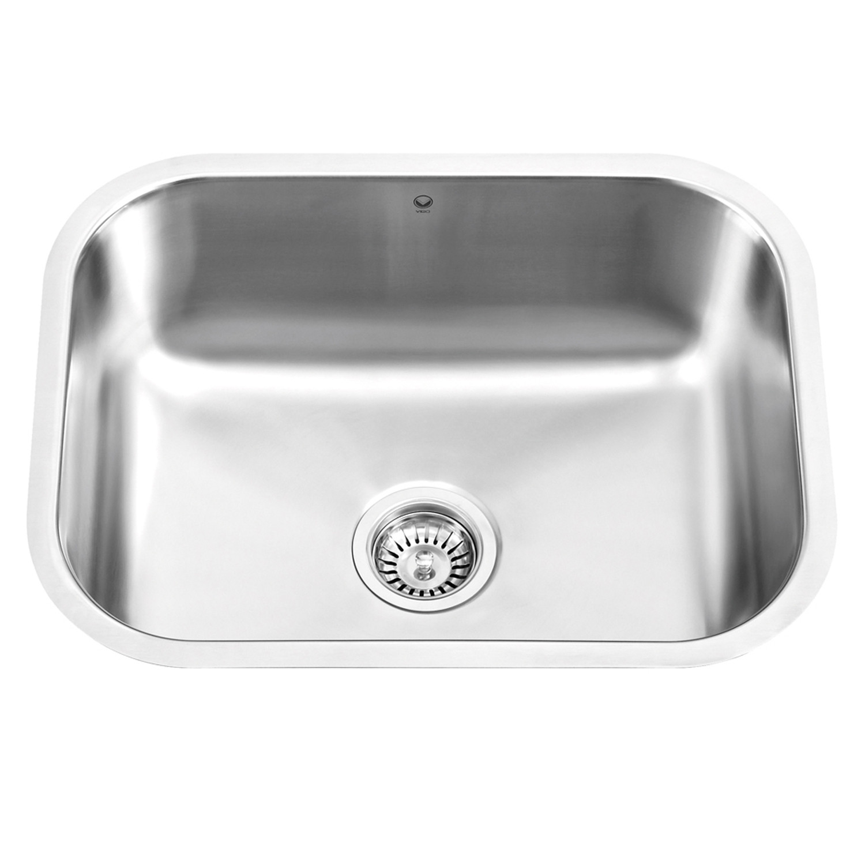 Vigo VG2318 23''. Smooth Apron Stainless Steel Sink