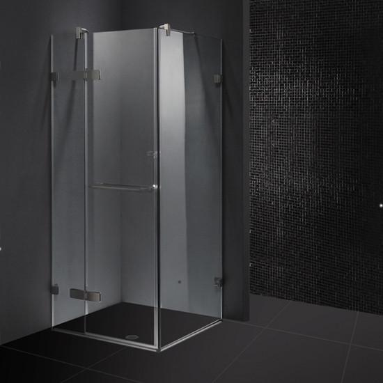 Vigo VG6011....32 32'' Square Frameless Glass Bathroom Shower Enclosure