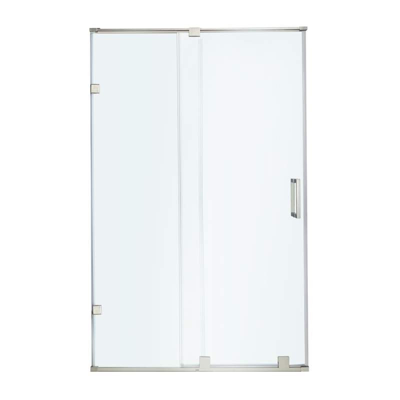 VIGO VG6045STCL6073 Clear Glass Shower Door - Stainless Steel Hardware
