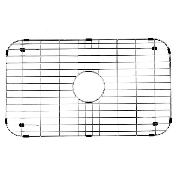 Vigo VGG2514 26'' Rectangular Kitchen Sink Bottom Grid