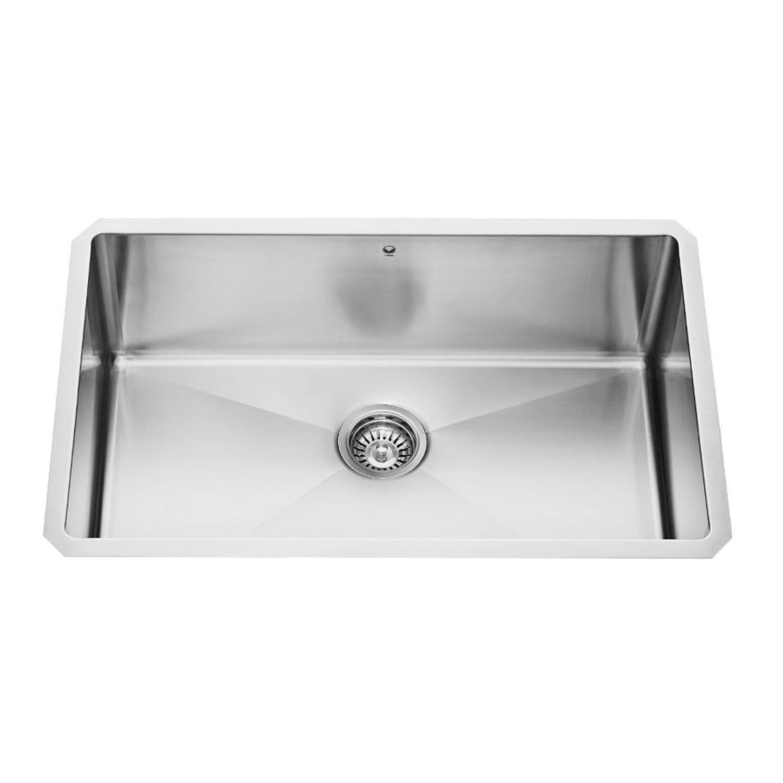 Vigo VGR3019C 30''. Stainless Steel Undermount Sink