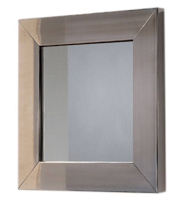 Whitehause WHE5 New Generation Square Mirror With Stainless Steel Frame