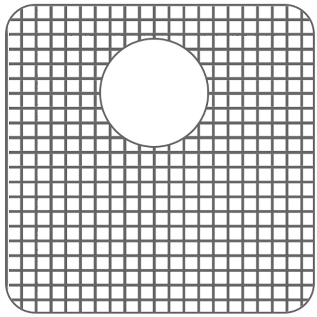 Whitehaus WHNC1517G Stainless Steel Sink Grid for WHNC2917 & WHNC1517