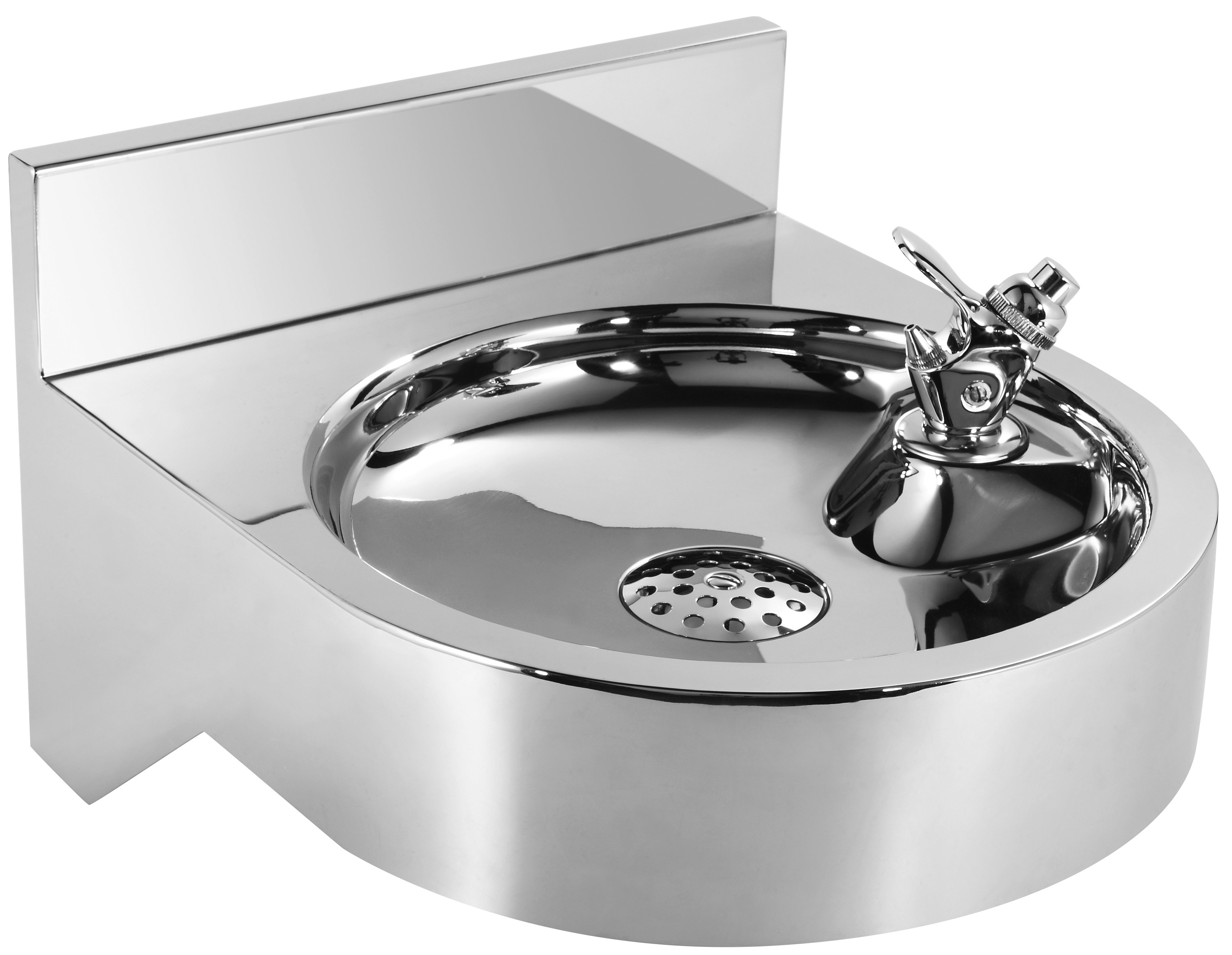 Whitehaus WHNCDF1214 Noah'S Collection Commerical Drinking Fountain in Stainless Steel