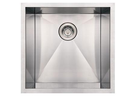 Whitehaus WHNCM1920 Stainless Steel 19'' Single Undermount Kitchen Sink