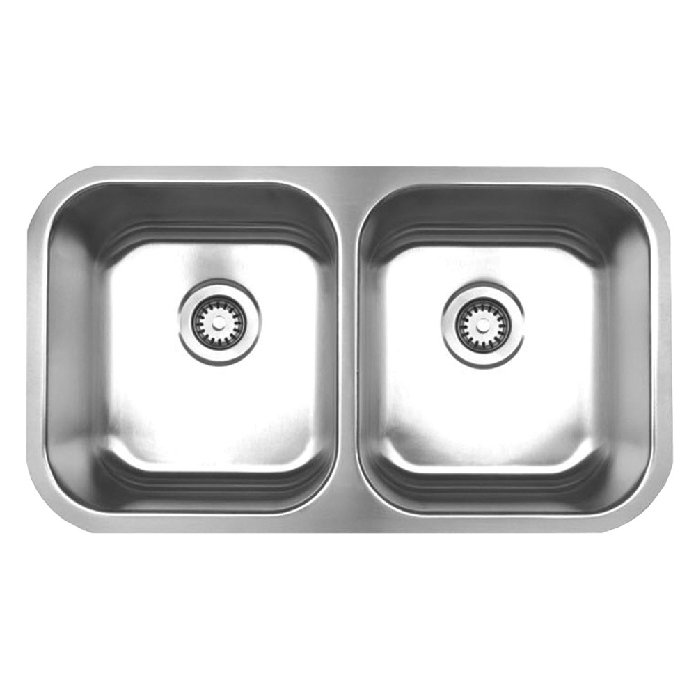 Whitehaus WHNEDB3118 Stainless Steel Sink