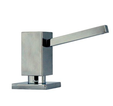 Whitehaus WHSQ-SD003 Modern Solid Brass Q-Haus Soap / Lotion Dispenser