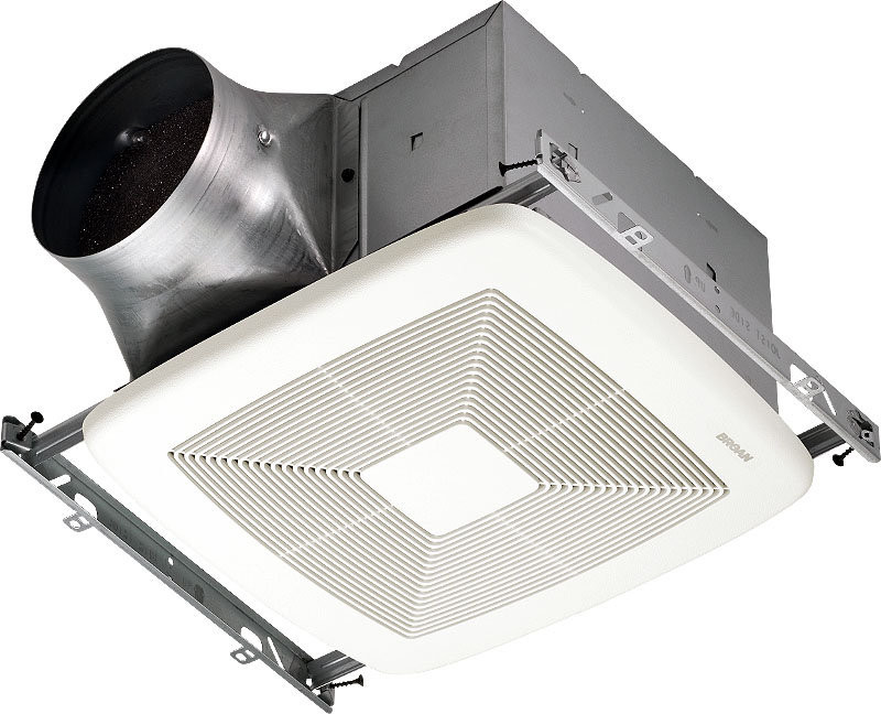 Broan XB50 Ceiling Mounted HVI - Energy Star Rated Bath Fan with Reducer