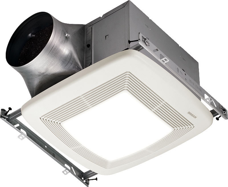 Broan ZB110L Ultra X2 Multi-Speed Series Ventilation Fan - Fluorescent Bulb