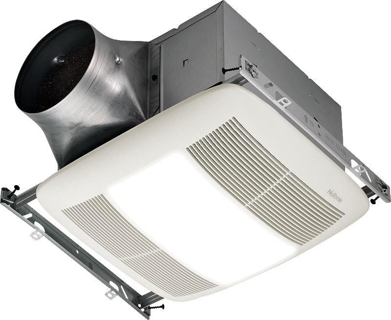 Broan ZN110L Ultra X2 Multi-Speed Series Ventilation Fan - Fluorescent Bulb