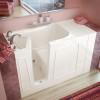 MediTub 3053LBH Walk-In 30 x 53 Left Drain Biscuit Whirlpool Jetted Bathtub