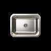 Cantrio Koncepts KSS-516 One Bowl Undermont Kitchen Sink - Stainless Steel