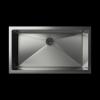 Cantrio Koncepts KSS-104 10mm Radius Stainless Steel Undermount Kitchen Sink