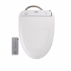 TOTO SW573#01 Washlet S300e Round Bidet Seat With Ewater+ Technologies In Cotton