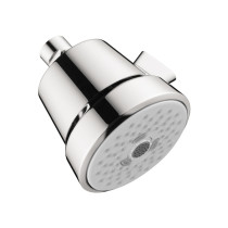hansgrohe 04500000 Club 100 Select Multi-Function Chrome 4 Inch Shower Head